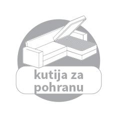 kožna kutna garnitura sa kutijom za odlaganje