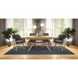Komplet stol na razvlačenje Asensio, stolice i fotelje Tenor