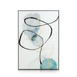Ukrasna slika, Blue pastel