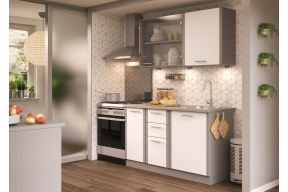 Blok kuhinja 140 cm, Lora