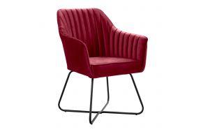Fotelja, Tenor metalne nogice