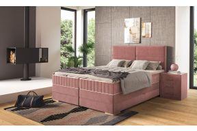 Box spring krevet sa sandukom za odlaganje, uzglavlje Vigo
