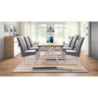 Komplet stol na razvlačenje Davos 160(210)x90 i stolice Ana