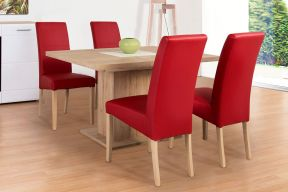 Komplet stol na razvlačenje Cross i stolice Cross