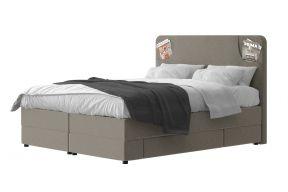 Box krevet s 2 ladice, Iris