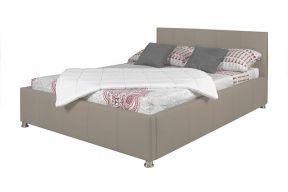 Komplet za spavanje s podnicama i sandukom 200x160, cappucino boja