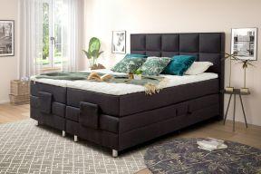 Box spring krevet s električnim podizačima, uzglavlje Oto