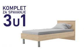 Komplet za spavanje u dimenziji 190x90 - 1.499,00 kn