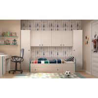 Komplet dječja soba, most sa krevetom i ladicom - Andi sastav 1