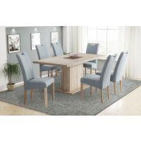 Komplet stol na razvlačenje Cross i stolice Ana