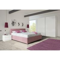 Komplet za spavanje 200x140 - krevet Kira s podnicom i madrac
