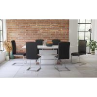 Komplet stol na razvlačenje Toronto i stolice Oceane